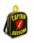 Six Bunnies Captain Awesome America Toddler Cool School Backpack Bag Pop Culture