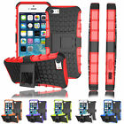 Heavy Duty Shockproof Armor Military Builders Stand Case Hard Cover for iPhone