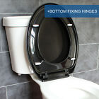 toilet seat hinges soft close