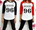 Calum Hood 96 5sos 5 SOS UNISEX Band Shirt Raglan Women 3/4 Long Sleeve TShirt