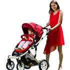 TOP ROYAL KIDDY BABY JOGGER PRAM PUSHCHAIR STROLLER 3 IN 1 CAR SEAT | CARRY COT