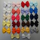 Double Bow Hair Clip or Bobble - Approx 70mm. school, party, christmas