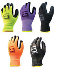 Safety Winter Insulatated Double Lining Rubber-Coated Work Gloves-BGWANS