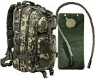 Monkey Paks Military Army Backpack Hydration Pack Travel Rucksack Camping Bag