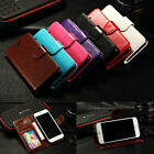 Luxury Genuine Real Leather Flip Stand Wallet Case Cover for iPhone 6 6s 6 Plus