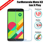 9H+ Premium Tempered Glass Screen Protector For Motorola Moto X Play Style G E