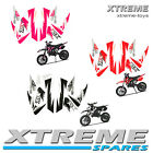 MINI DIRT BIKE XTREME TOX COYOTE 50 ALL COLOURS STICKER KIT DECALS TRANSFER PART
