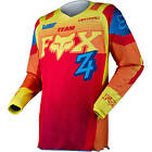 Fox Racing NEW Mx Gear 180 Imperial Red Yellow Dirt Bike Adult Motocross Jersey