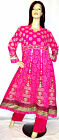 Shalwar Kameez Pakistani Designer Anarkali 3pc Stitched Abaya Hijab Dress UK 16
