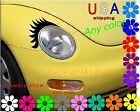 Car EYELASHes you CHOOSE for ANY headlight Custom conform guaranteed decals USA