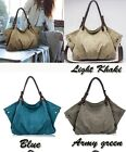 Hot Ladies Messenger Satchel Shoulder Bag Women's Canvas Bags Handbag Tote Purse