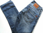 "PEPE JEANS Men's Tooting Regular Fit Straight Leg Denim Mid Blue W 30"" - 34"""