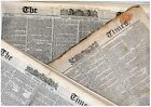 Victorian Newspaper 100 Years before you were born 1831-1891 Unique Vintage Gift