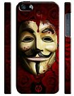 Tradition of Italy Vendetta Mask iPhone 4S 5 5S 5c 6S 7 8 X XS Max XR Plus Case