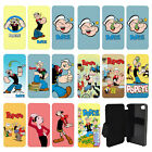 Popeye the sailor man cartoon Flip Wallet cover case for Apple iPhone No.9