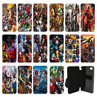 Marvel superhero comic book Flip Wallet cover case for Apple iPhone No.4