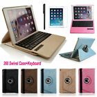 360 Rotating Folio Leather Case Cover WITH Bluetooth Keyboard For iPad MINI 4