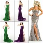 Lace/Sequined Mermaid Bridesmaid Dresses Party Prom Dress Evening Gowns Stock