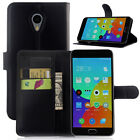 Stand Wallet Card PU Leather Flip Cover Case For Meizu MX4 MX6 MX5 M6 M3 Note
