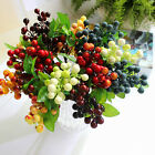 Artificial Berry Plants Fake Silk Flowers Wedding Party Home Decoration Gifts