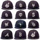 New Era 59FIFTY 5950- Basic - Navy/White - MLB Baseball Hat Cap