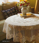 "Heritage Lace Victorian Rose 60"" x 108"" Rectangle Tablecloth"