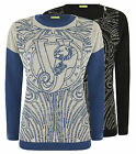 Versace Jeans Womens Filato Knitted Jumper