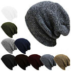 Unisex Women Men Wool Knit Baggy Beanie Beret Winter Warm Ski Cap Hat