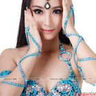 newest belly dance costumes dancing 2armbands arm gloves armlets beads sequins