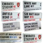Official Football Club Stadium Street Wall Door Sign Licensed Merchandise New