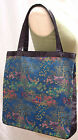 (New) Classic Brocade Shopping Tote Bag 5 Patterns/15 Colors