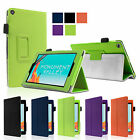 Smart Stand Leather Case Cover For 2015 NEW Amazon Kindle Fire 7 & HD 8 10 inch