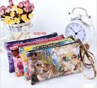 Fashion Women Lady Leather Zip Wallet Long Card Holder Case Purse Handbag