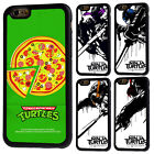 Teenage Mutant Ninja Turtles Rubber Phone Case For iPhone 5s 6s 7 8 X Plus Cover