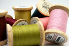 YLI Glazed Cotton Thread 40wt 3 ply tex 40 400 yard wooden spools - 26 Colors