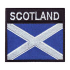 SCOTLAND BADGE FLAG EMBROIDERED  PATCH