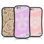 HEAD CASE DESIGNS LACES AND PEARLS 2 HYBRID CASE FOR APPLE & SAMSUNG PHONES