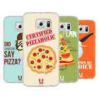 HEAD CASE DESIGNS CERTIFIED PIZZAHOLIC SOFT GEL CASE FOR SAMSUNG PHONES 1