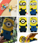 For Huawei Honor 6 Plus 4X 5X 7i 7 3X 4C 5 4 Play 4A Minions Silicone Case Cover
