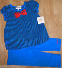 Juicy Couture baby girl top tunic & legging 6-12 m BNWT outfit designer JCMIG144