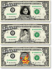 1 Personalized BIRTHDAY GIFT Your Face/Name on REAL DOLLAR Cash Money Customized