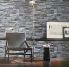 NEW Luxury Chinese STONE WALL BRICK EFFECT PHOTOGRAPHIC WALLPAPER ROLL