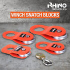 Winch Snatch Block Pulley Off Road-Recovery 2T 4T 8T 10T 12T RHINO WINCH Quality
