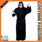 Mens Ghoul Zombie Halloween Scream Fancy Dress Costume All Sizes
