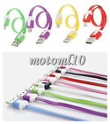 22cm Short Noodle USB Data Sync Charger Cable for iPhone 5 5S 6 Plus Samsung Mo