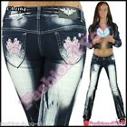 Womens Jeans Ladies Trousers Bootcut Tattoo Crazy Age Jeans Size 6,8,10,12,14 UK