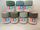 Tamiya Acrylic Paint  10ml pot  XF1 to XF50. Delivery charge is for any quantity