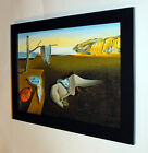 Salvador Dali The Persistence of Memory canvas print, framed 6.8X8.8&10X13,6
