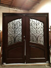 HOLIDAY SALE! + FREE SHIPPING! Wood Iron Door Pre-hung &Finished DMH7619-6