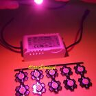 New 3W full spectrum 400nm~840nm led grow lights with 6-10*3W driver for plant